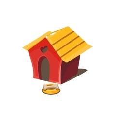 Kennel simplified cute vector