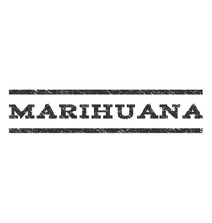 Marihuana Watermark Stamp vector