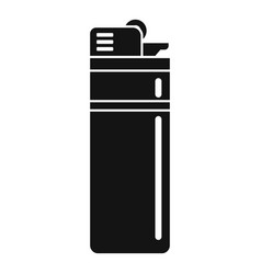 Survival lighter icon simple style vector