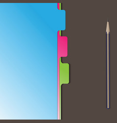 document separator divider vector image vector image