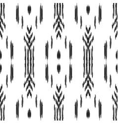 ikat seamless pattern wallpaper background vector image