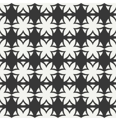 Geometric line national chinese seamless pattern vector image
