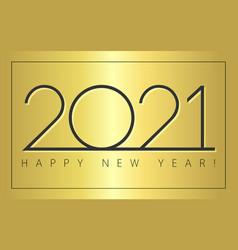 2021 simple black minimal sign gold gradient vector