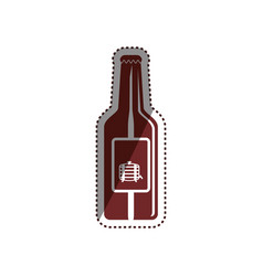 beer and brewery concept vector image