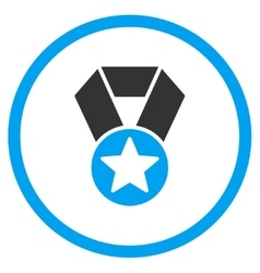 Champion Medal Icon vector
