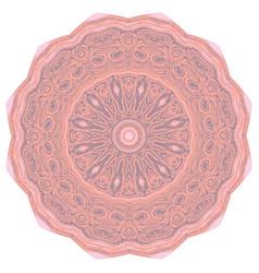 grunge decorative mandala vector image