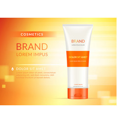 hand cream ads vector image