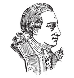 Johann von goethe vintage vector