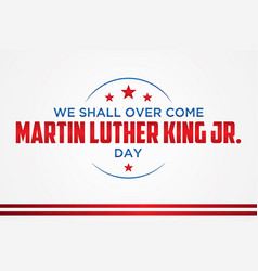 Martin luther king jr vector