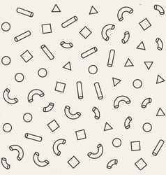 Seamless primitive jumble minimalism patterns vector