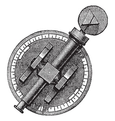 Vintage Spectroscope vector image