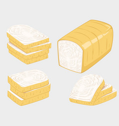 bread and vector image