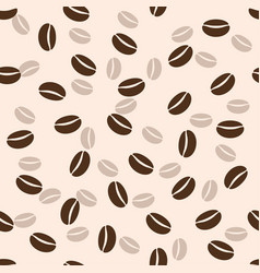 Coffee seamless background vector