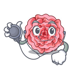 doctor carnation in the a character pot vector image