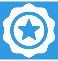 Reward seal icon from competition success vector