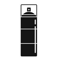 Survival spray bottle icon simple style vector