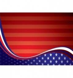 usa American background vector image