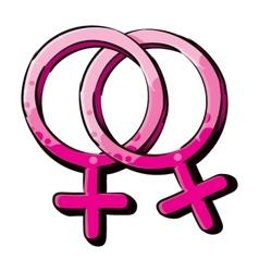 Homosexual womans love vector image vector image