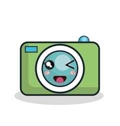 Cartoon camera technology digital design vector