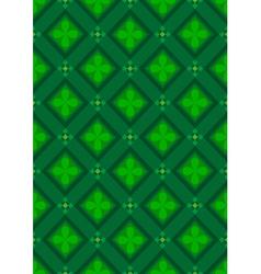 Dark green seamless background vector
