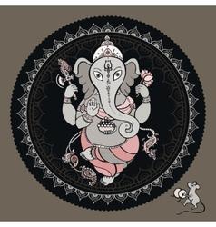 Ganesha hand drawn vector