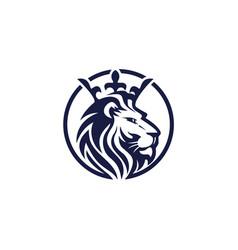 Lion logo template vector
