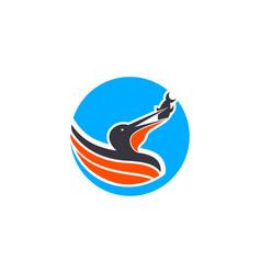Pelican logo vector