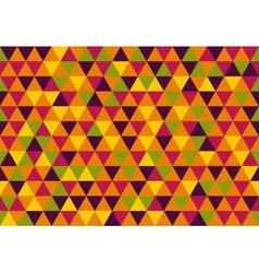 Retro triangle pattern sugar vector