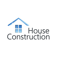 home construction silhouette vector image vector image