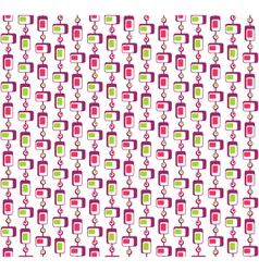 Seamless Bright Fun Abstract Pattern vector image vector image