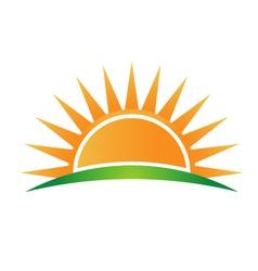 Sunshine logo vector image vector image