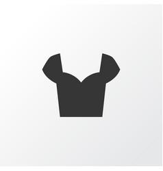 blouse icon symbol premium quality isolated shirt vector image