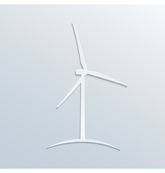 paper windmill vector image