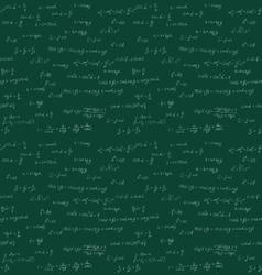 Seamless mathematics handwriting vector