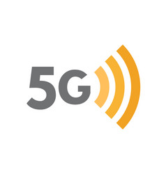 5g network technology symbol fifth generation vector