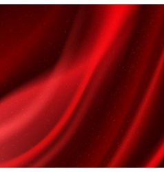 Abstract wavy fabric vector