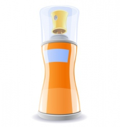 Deodorant bottle vector