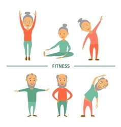 Fitness for older personsComplex Exercise vector