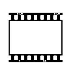 Frame of film vector