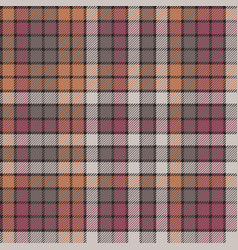 Mosaic check plaid fabric texture seamless pattern vector