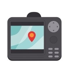 Navigator screen vector