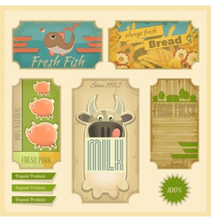 Organic Products vector image