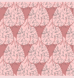 Scrotum pattern seamless mans balls hairy vector