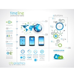 timeline 22 vector image