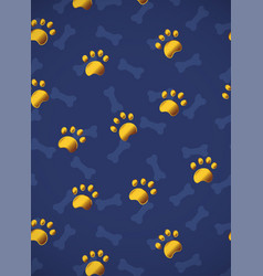 vertical card pattern with gold or yellow vector image