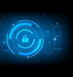 Abstract security log key digital technology vector