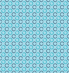 Abstract seamless background with grunge circles vector image