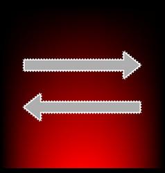 arrow simple vector image