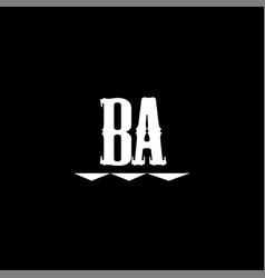 B a letter logo abstract designb a letter logo vector