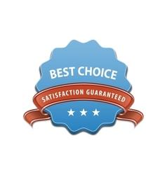Best choice sign vector